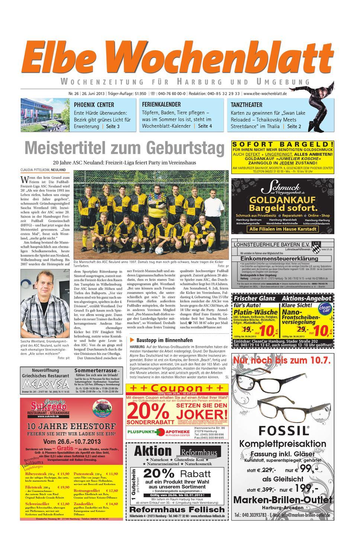 Harburg KW26-2013 by Elbe Wochenblatt Verlagsgesellschaft mbH & Co ...