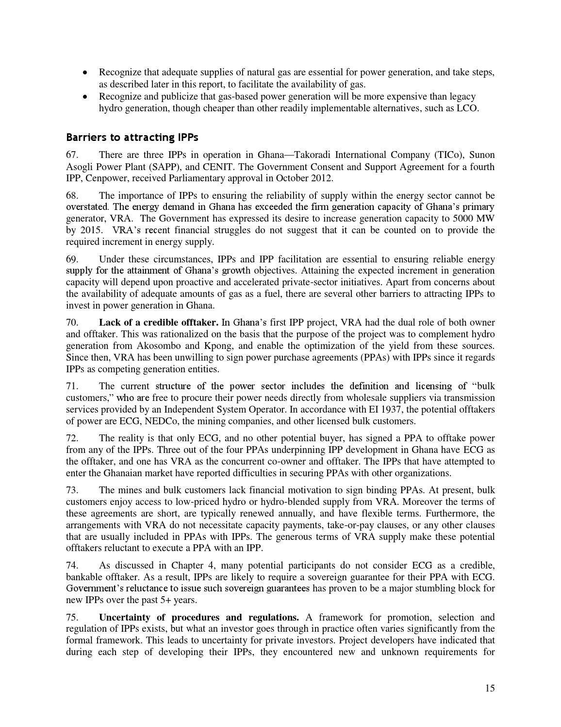 Energizing Economic Growth In Ghana Report By Kennedy Fosu Issuu