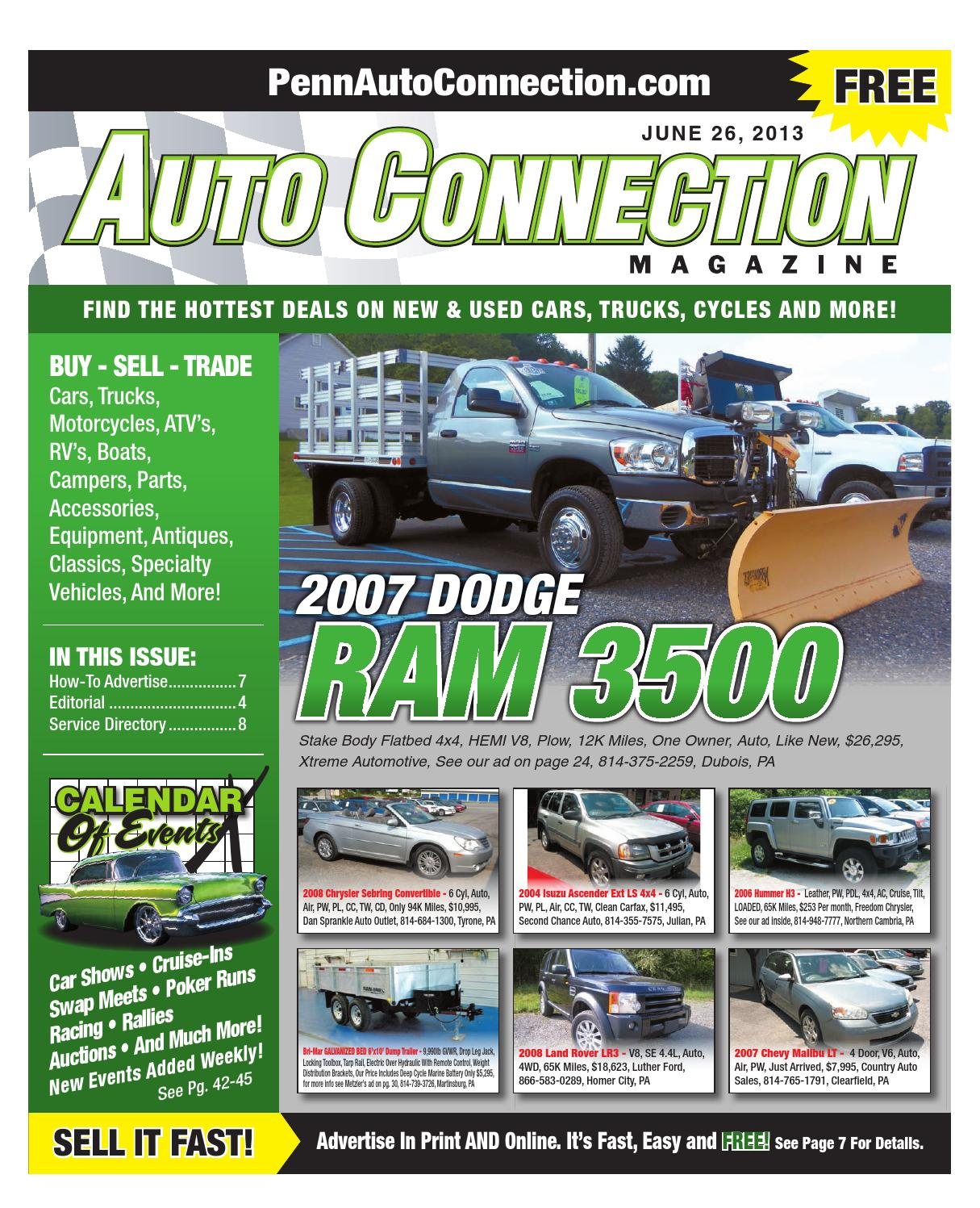 06 26 13 Auto Connection Magazine By Issuu Wiring Diagrams 2002 Toyota Rav4l