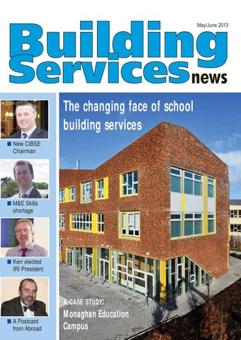 4da6a3636155 Building services news may june 2013