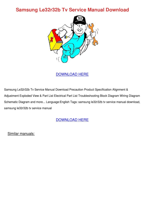 samsung manuals download