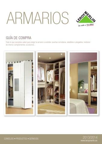 Leroy merlin armarios guia de compra 2013 14 by - Guia puerta corredera leroy merlin ...
