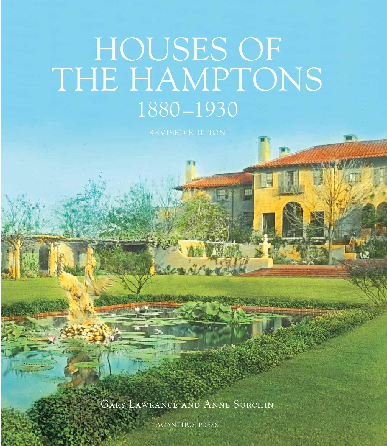 Houses of the hamptons revised edition 2013 by acanthus for Houses of the hamptons