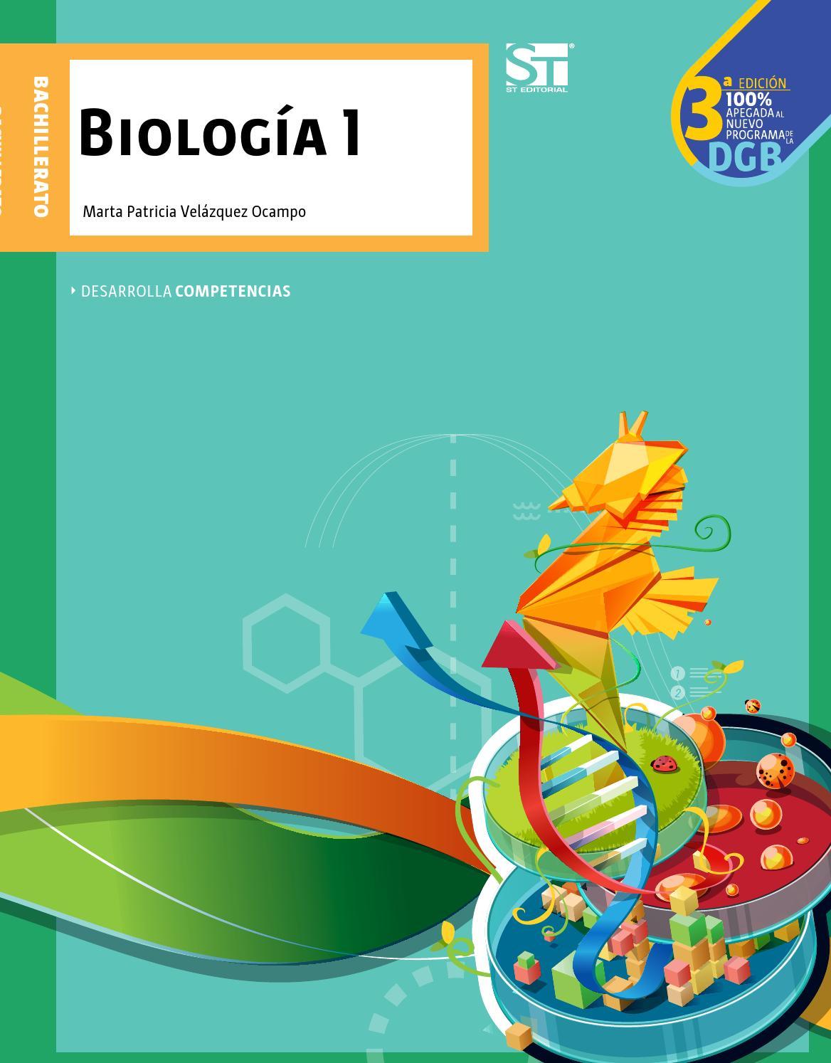 Biologia 1 by Milagro Trejos - issuu
