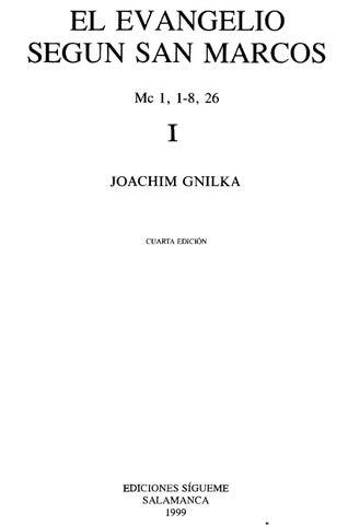24175549 marcos segun 01 gnilka san by el joachim evangelio yb6Y7gf