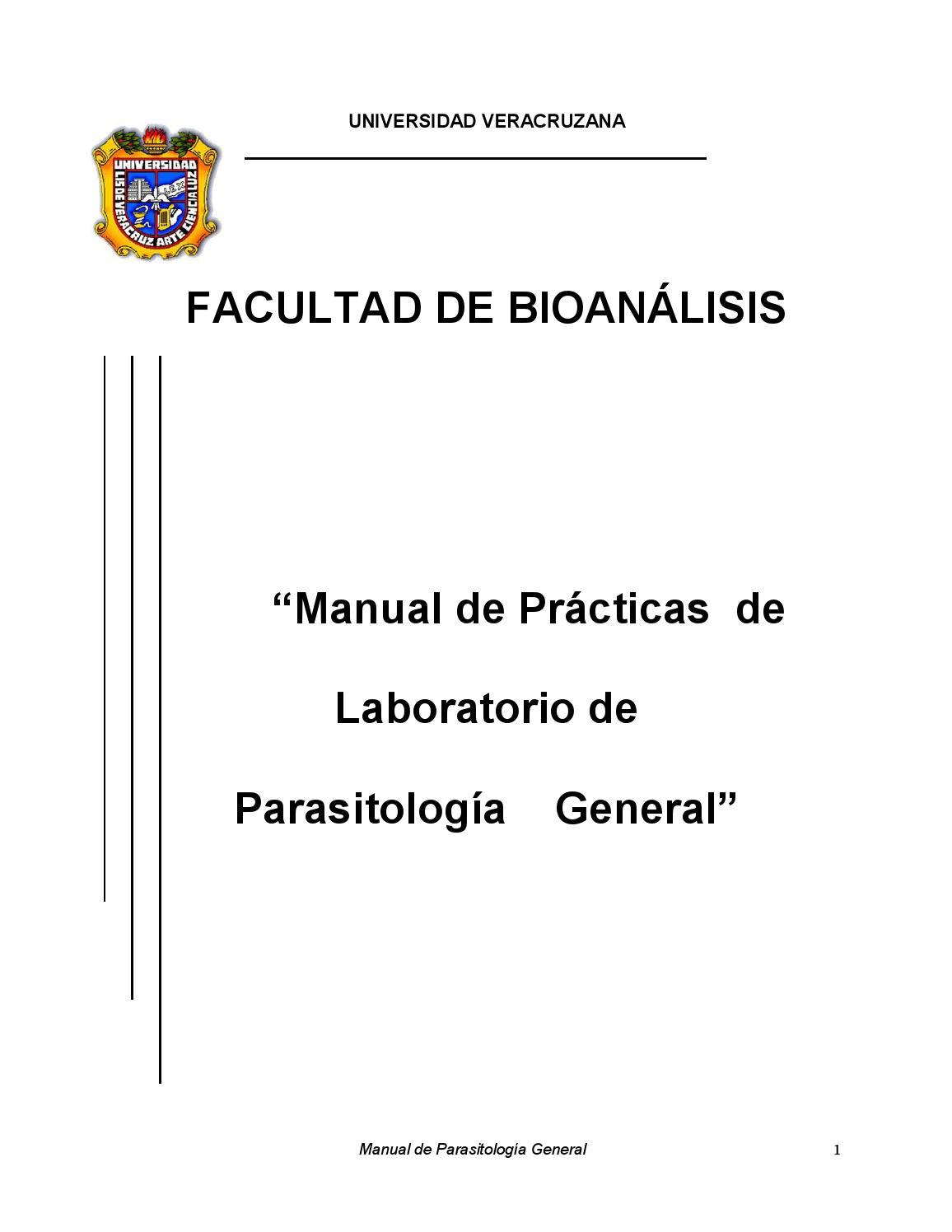 técnicas de laboratorio en parasitología