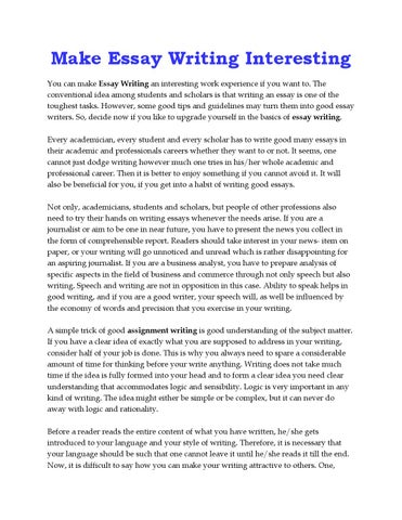 get your essay written for you