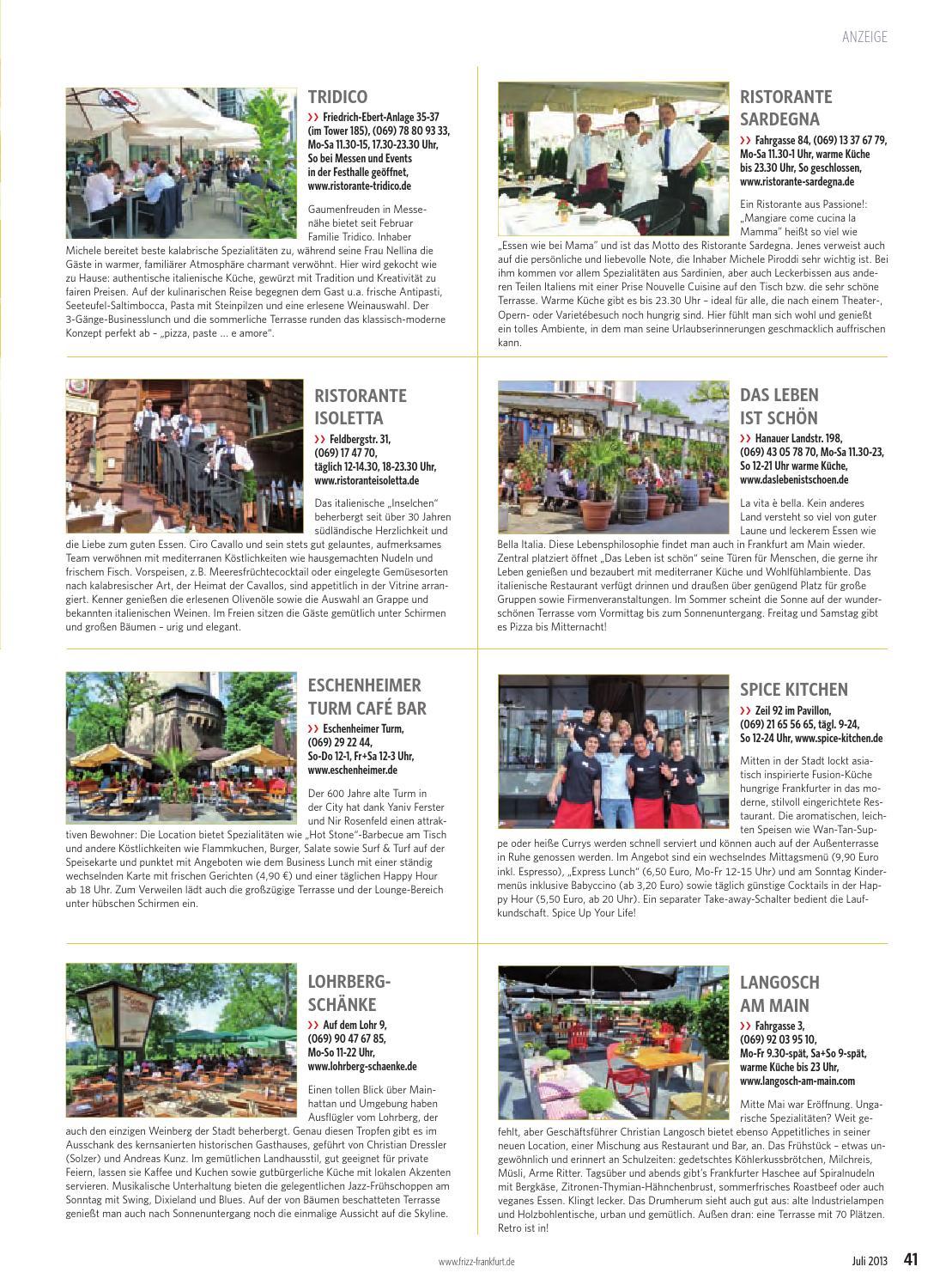 FRIZZ Das Magazin Frankfurt Juli 2013 by frizz frankfurt - issuu