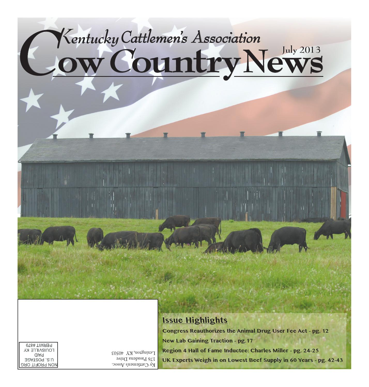 the kentucky cattlemans association essay Kentucky cattlemen's association - 176 pasadena dr ste 4, lexington, kentucky 40503 - rated 46 based on 51 reviews so happy to see hamburger meat at.