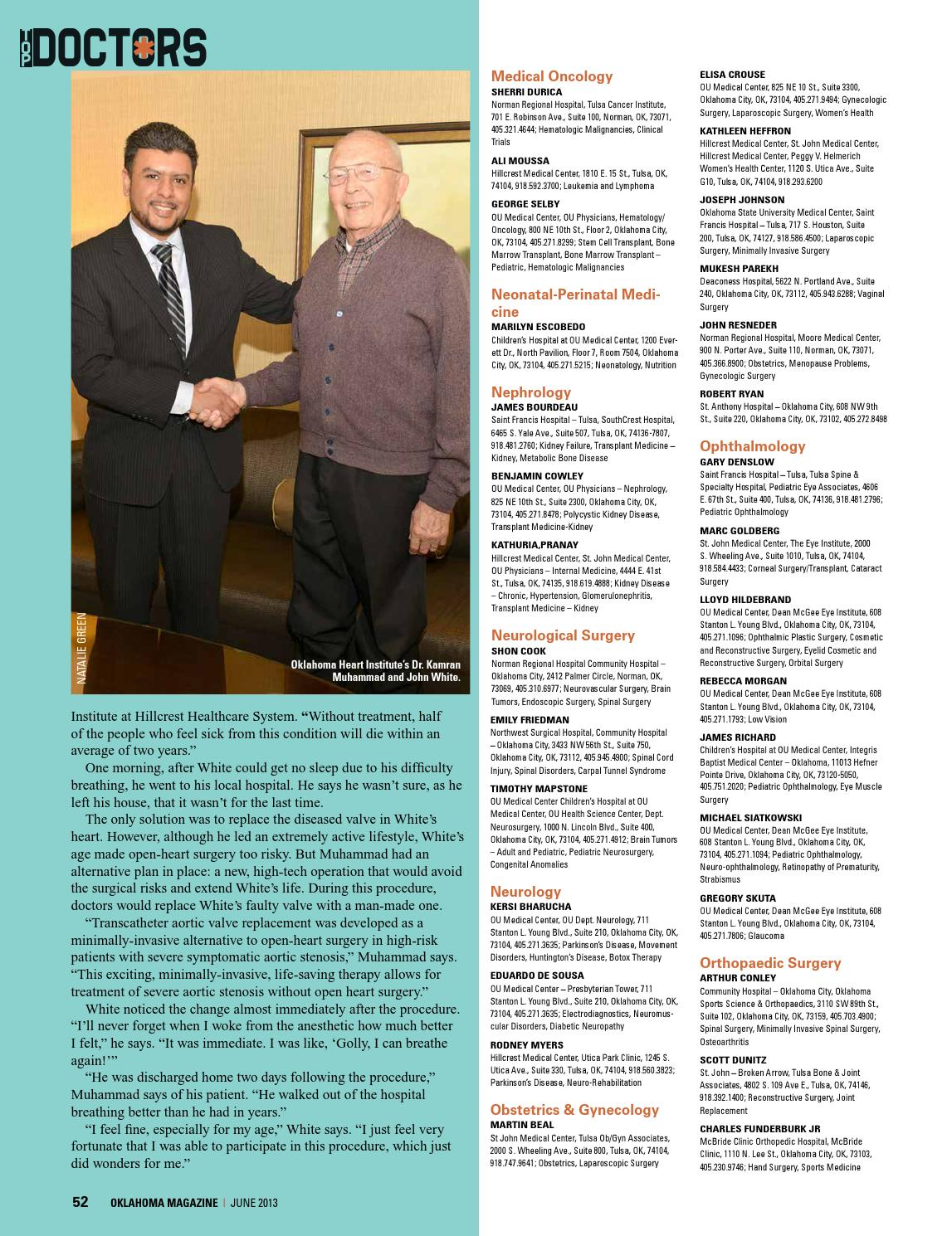 2013 June Oklahoma Magazine by Oklahoma Magazine - issuu
