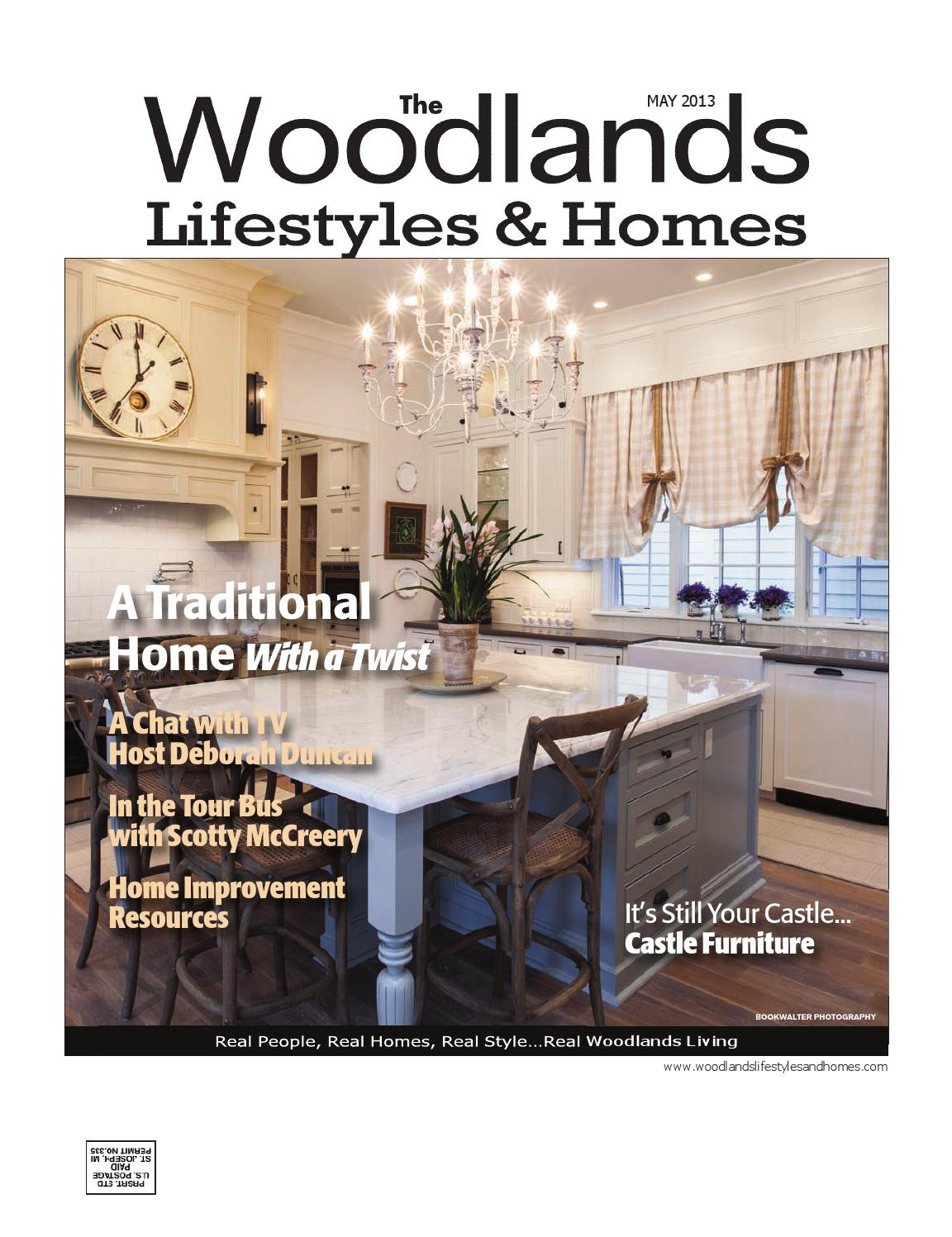 The Woodlands Lifestyles Homes May 2013 By Lifestyles Homes Magazines Fort Bend Publishing Issuu
