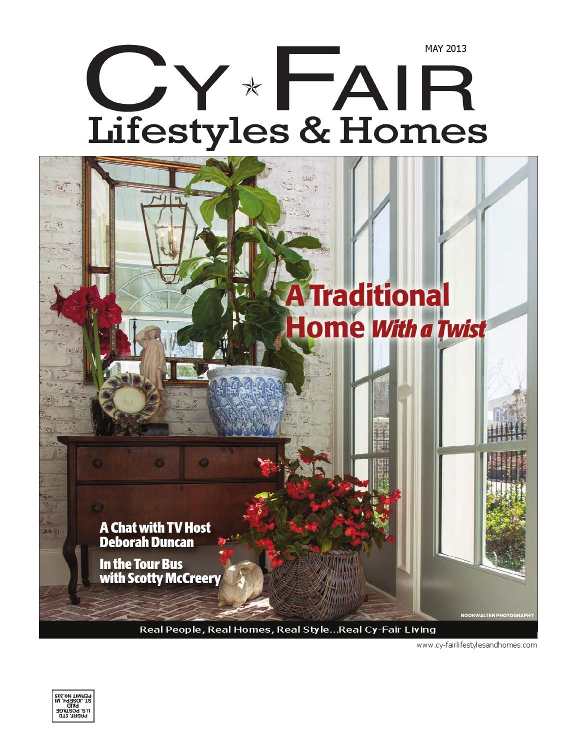 Cy-Fair Lifestyles & Homes May 2013 by Lifestyles & Homes