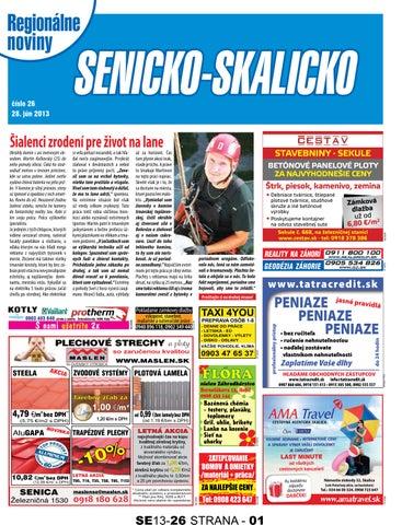 7bafc5fb67255 Senicko-Skalicko 13-26 by skalicko skalicko - issuu