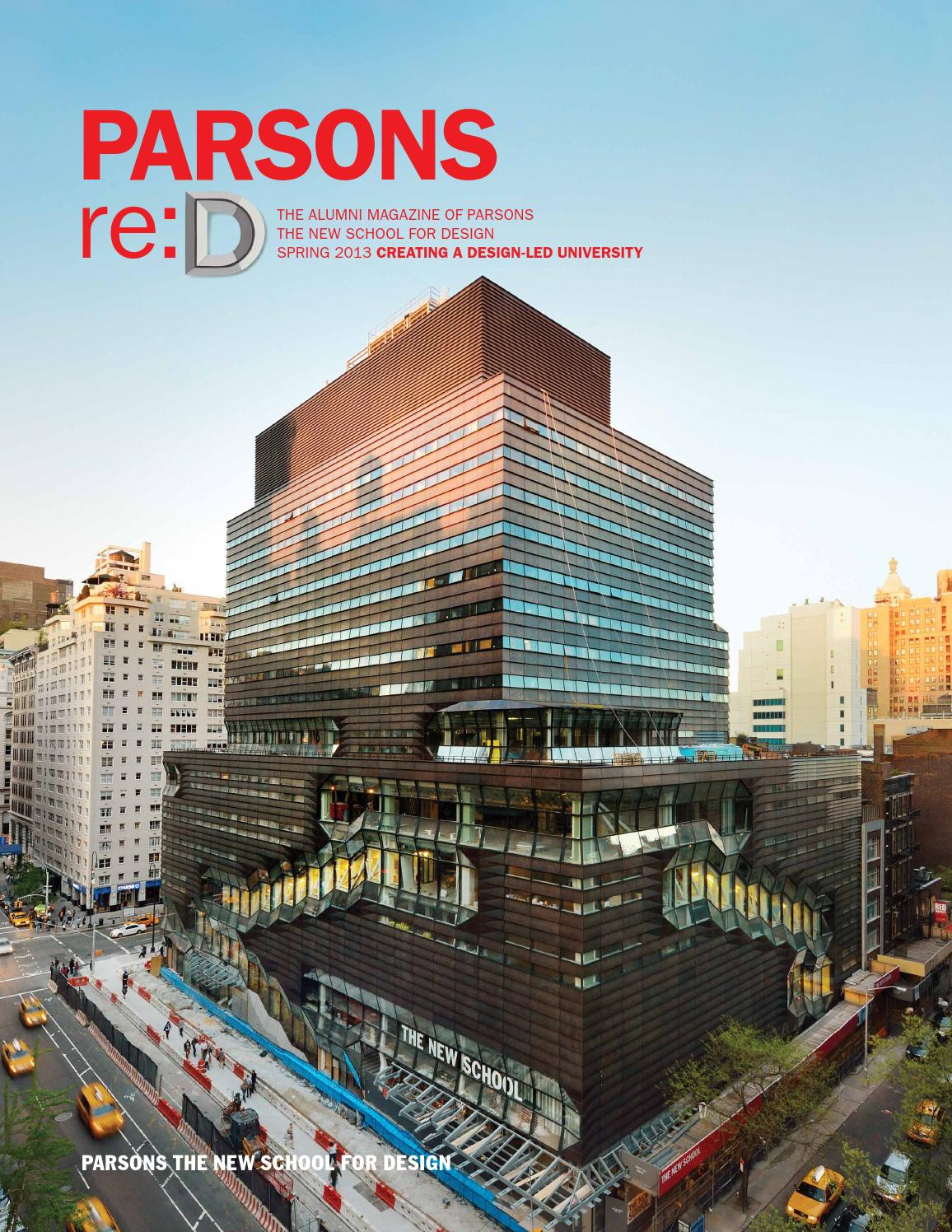 Re D Spring 2013 By The New School Issuu