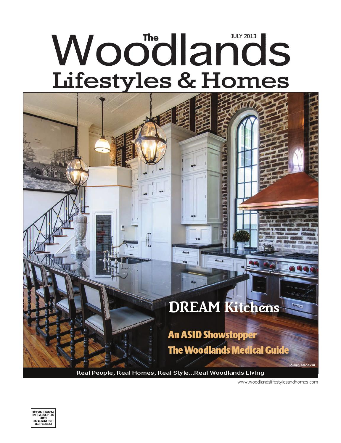 the woodlands lifestyles & homes july 2013 by lifestyles