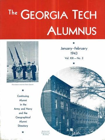 Georgia Tech Alumni Magazine Vol 21 No 03 1943