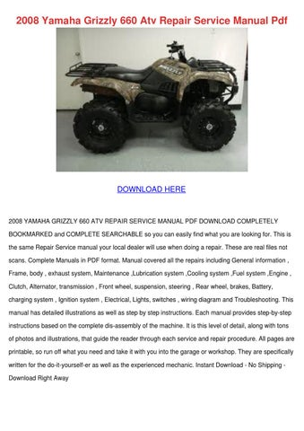 Page Thumb Large on Yamaha Grizzly 660 Fuel System Diagram