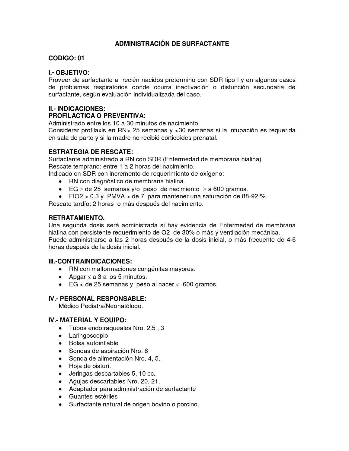 Guía de procedimientos en Neonatología - INMP by Instituto Nacional ...