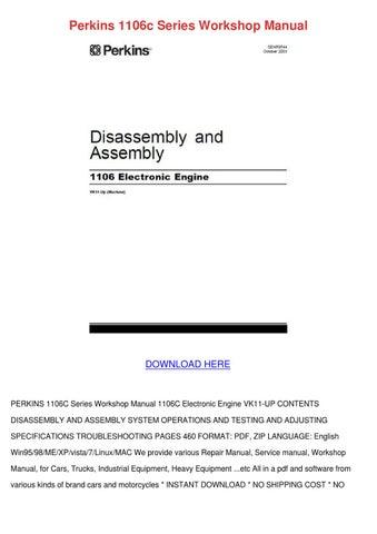 perkins 1106c series workshop manual by dwayneharley issuu rh issuu com