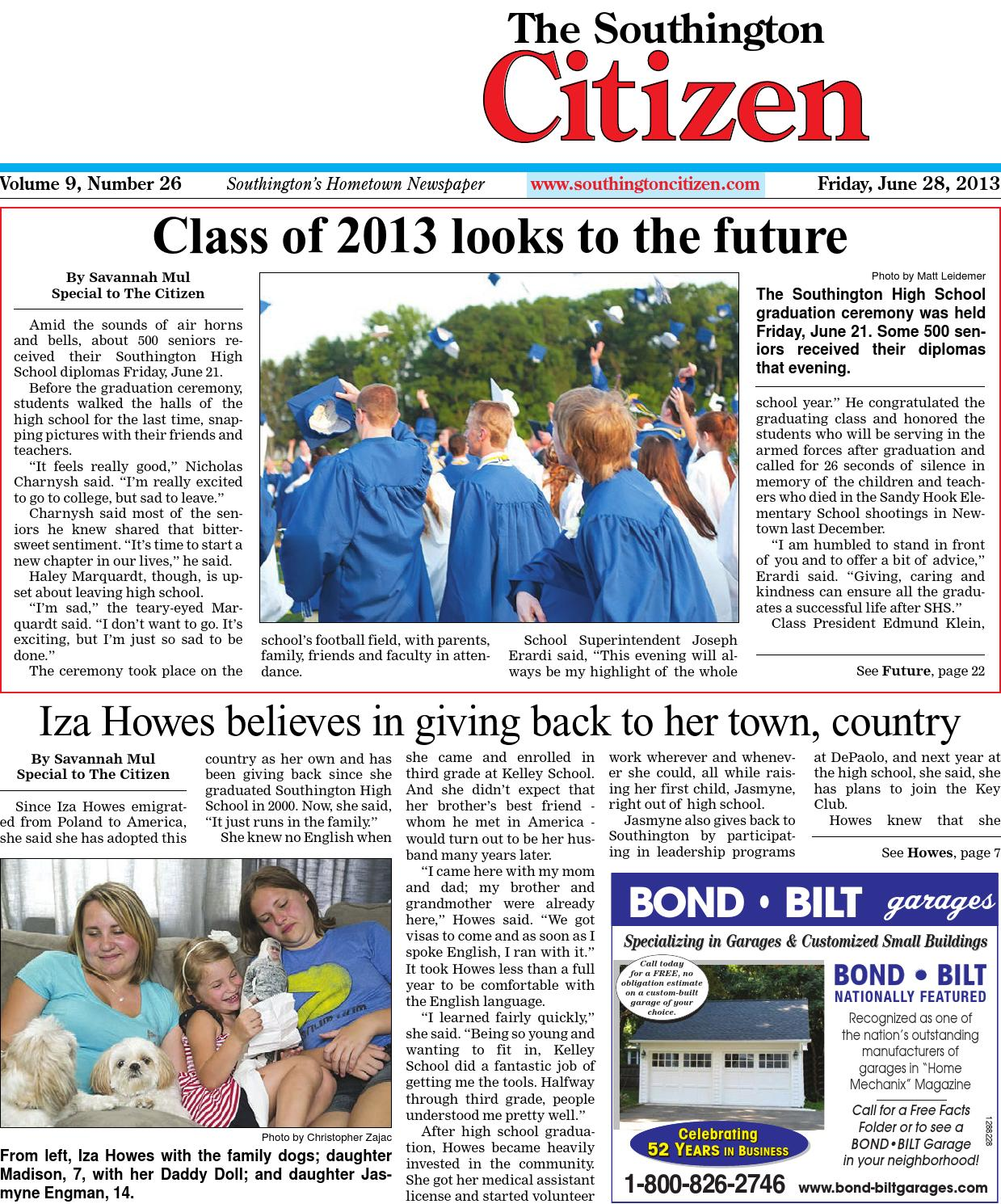 06 28 2013 the southington citizen by dan champagne issuu