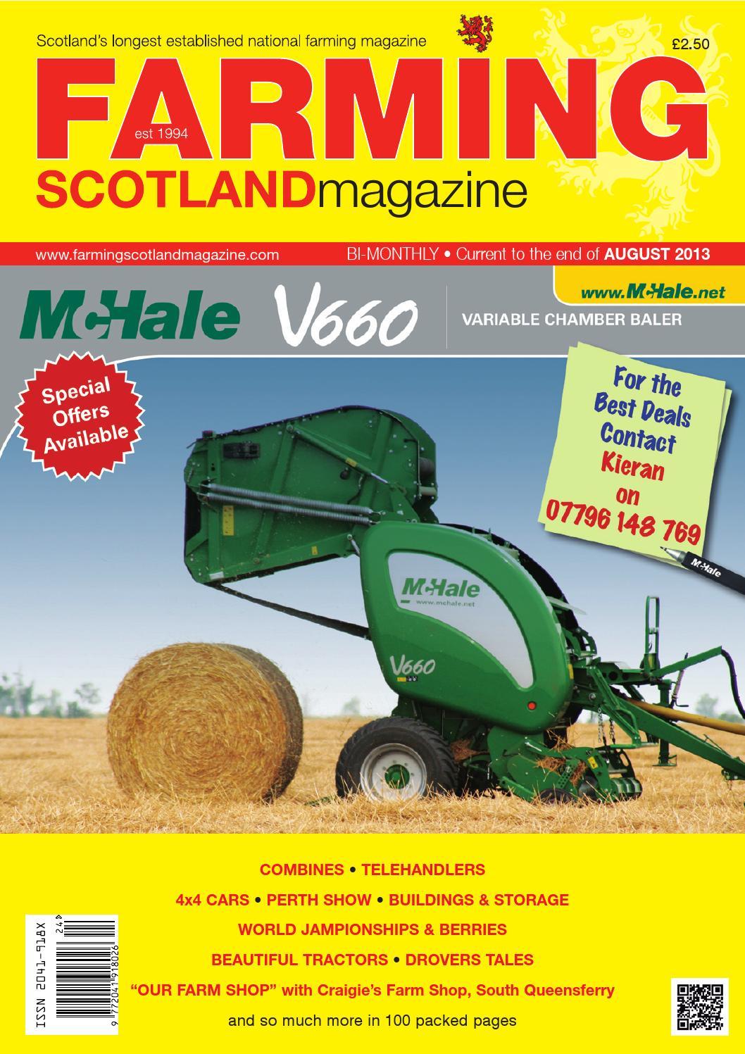 Farming Scotland Magazine July August 2013 by Athole Design & Publishing Ltd issuu
