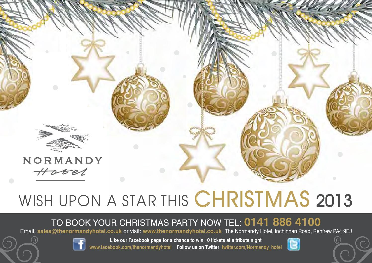 Normandy xmas 2013 brochure by BDL Hotels - issuu