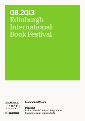 Edinburgh international book festival programme 2013 by edinburgh 082013 edinburgh international book festival fandeluxe Gallery