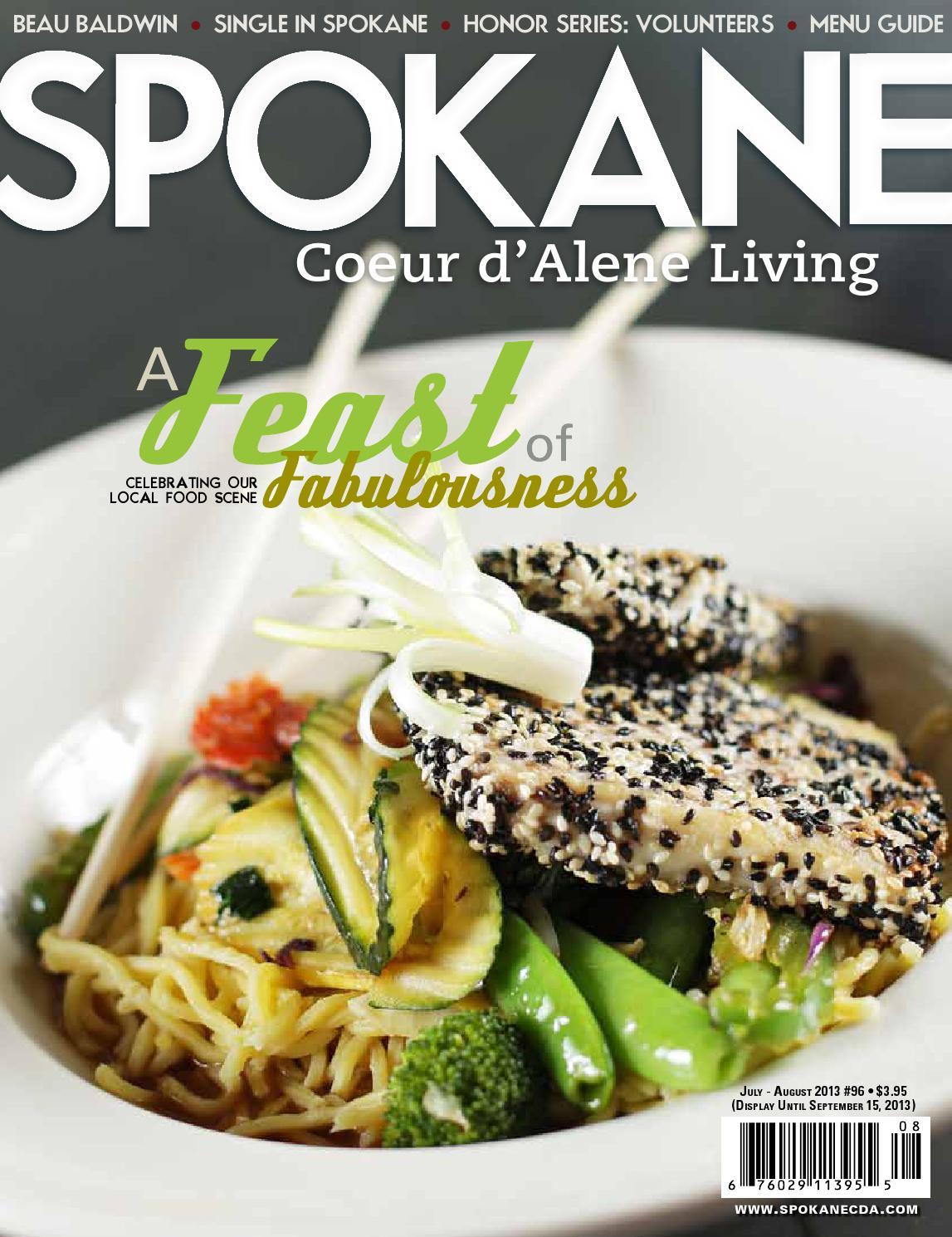Spokane Coeur D Alene Living Magazine 96 By David Crary