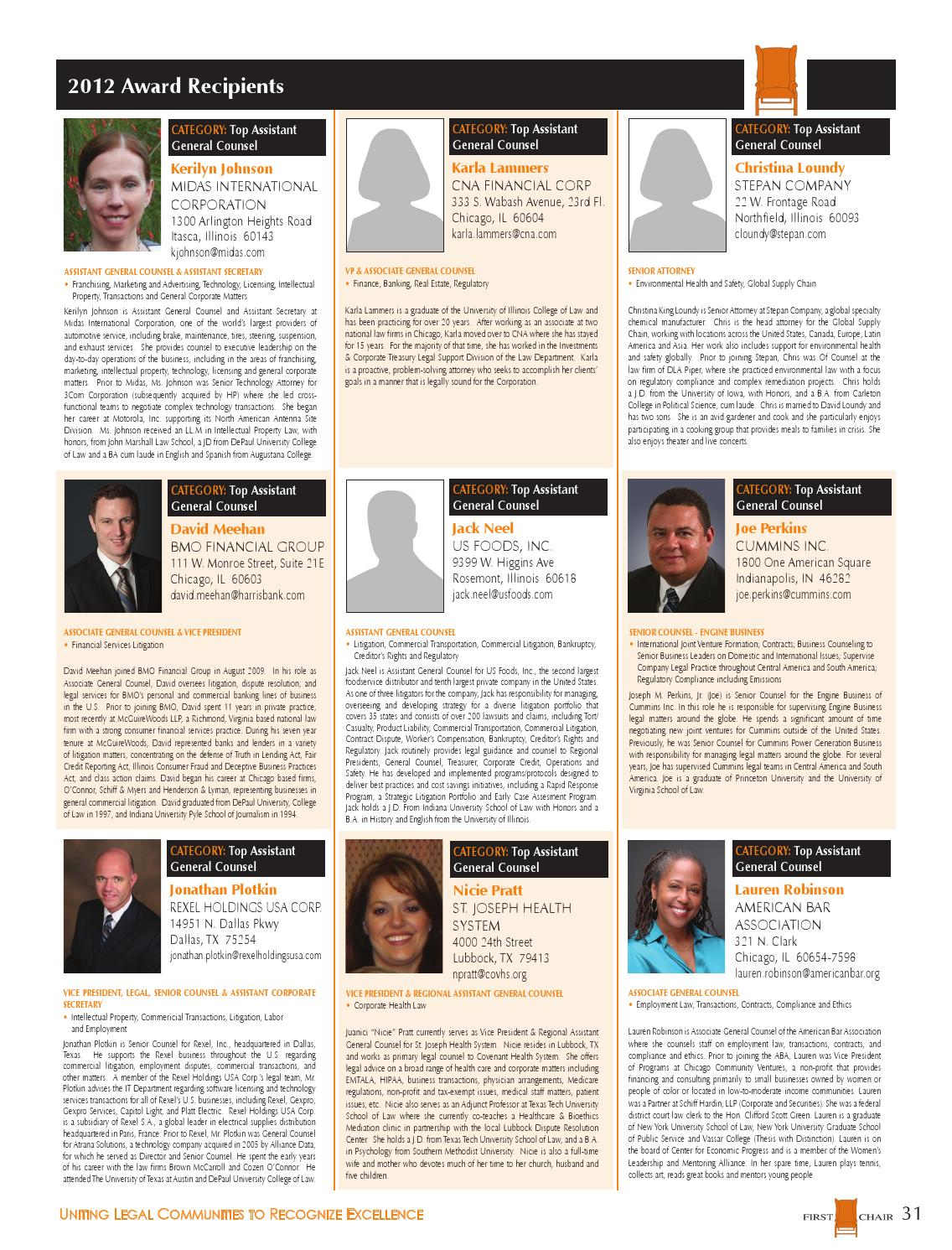 2013 First Chair Magazine by firstchair - issuu