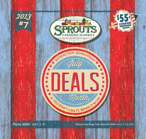 Deals of the Month - July by Sprouts Farmers Market - issuu