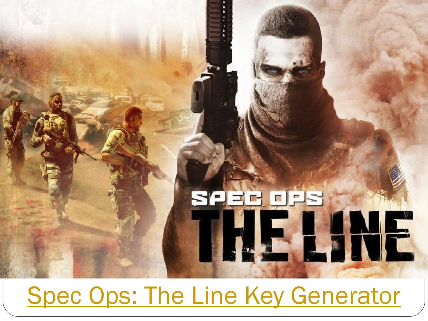 Spec ops the line key generator by Mana - issuu