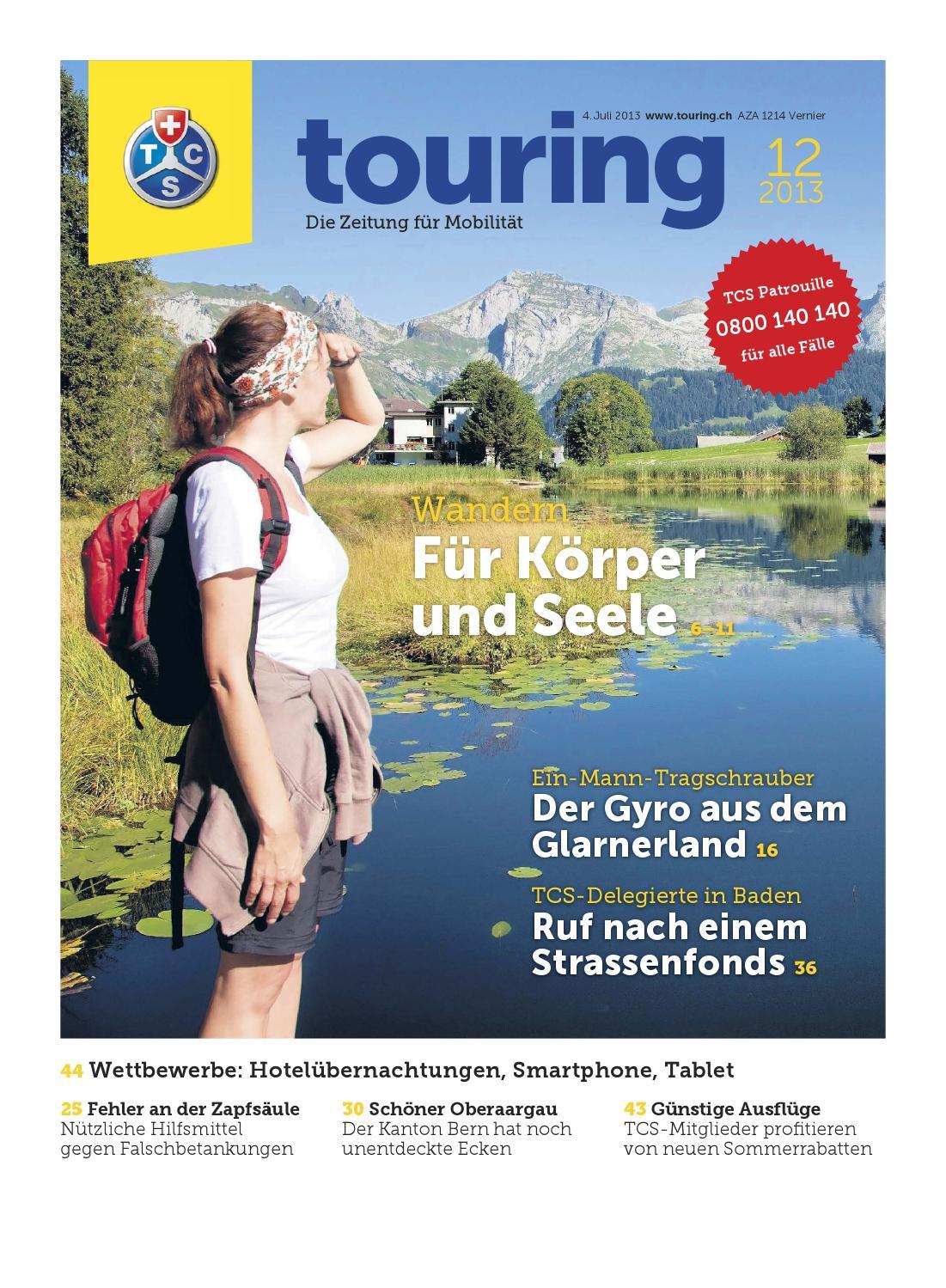Touring 12 / 2013 deutsch by Touring Club Schweiz Suisse Svizzera ...
