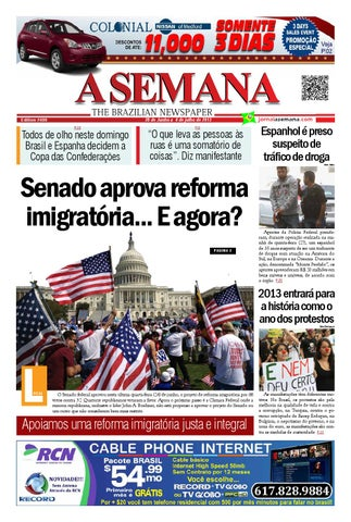 e7c1565f7 A SEMANA - The Brazilian Newspaper by JORNAL A SEMANA - issuu