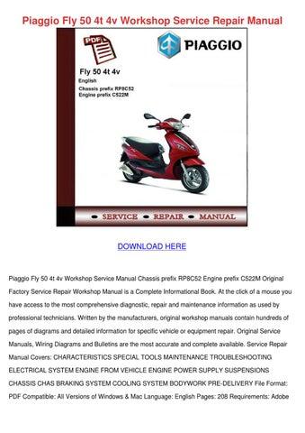 manual piaggio fly 150