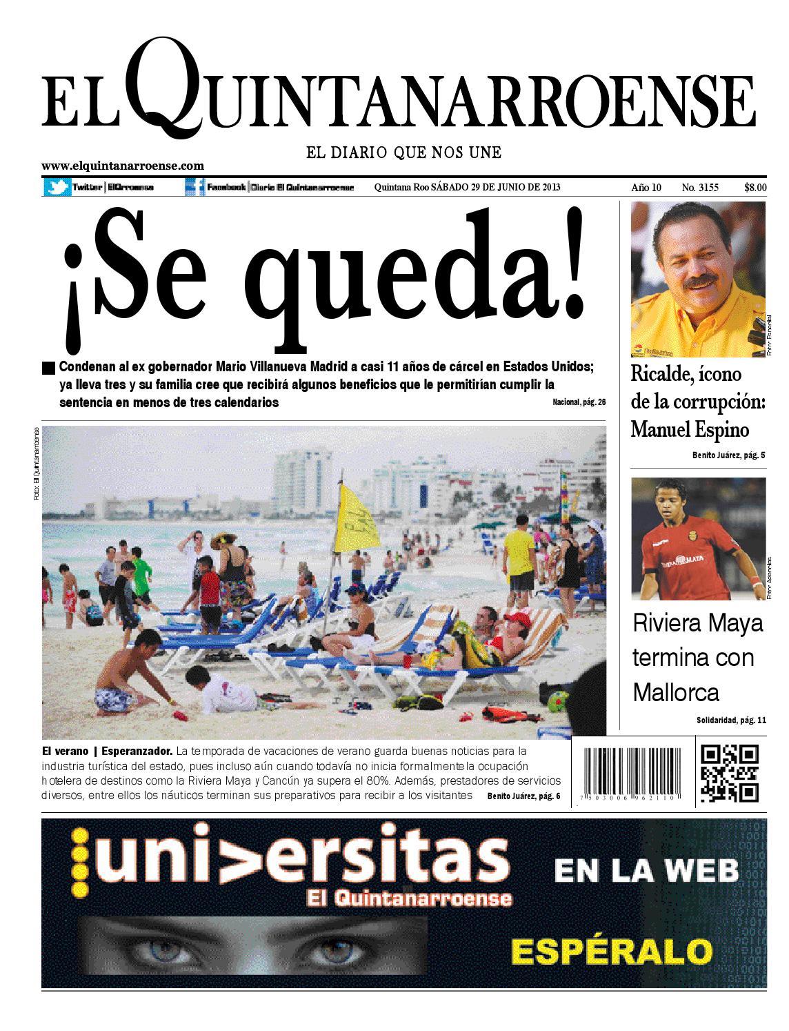 El Quintanarroense by Diario El Quintanarroense - issuu