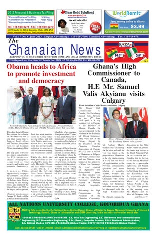 Ghanaian News - June 2013 Edition by Emmanuel Ayiku - issuu