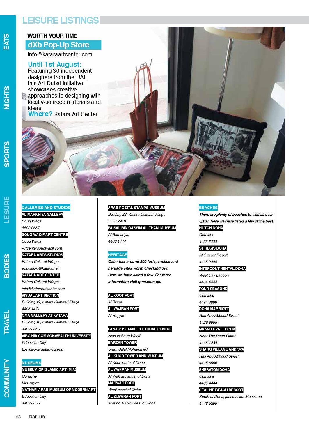 FACT Qatar July 2013 by Fact Magazine - issuu