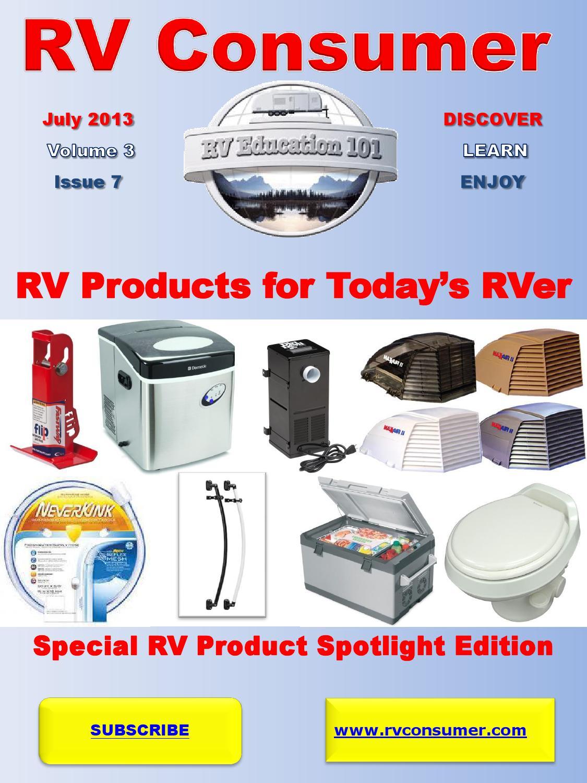 Rv Consumer Magazine July 2013 By Rv Education 101 Issuu