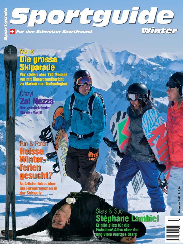 Sportguide Winter 2010 by Rolf Fleckenstein Media issuu