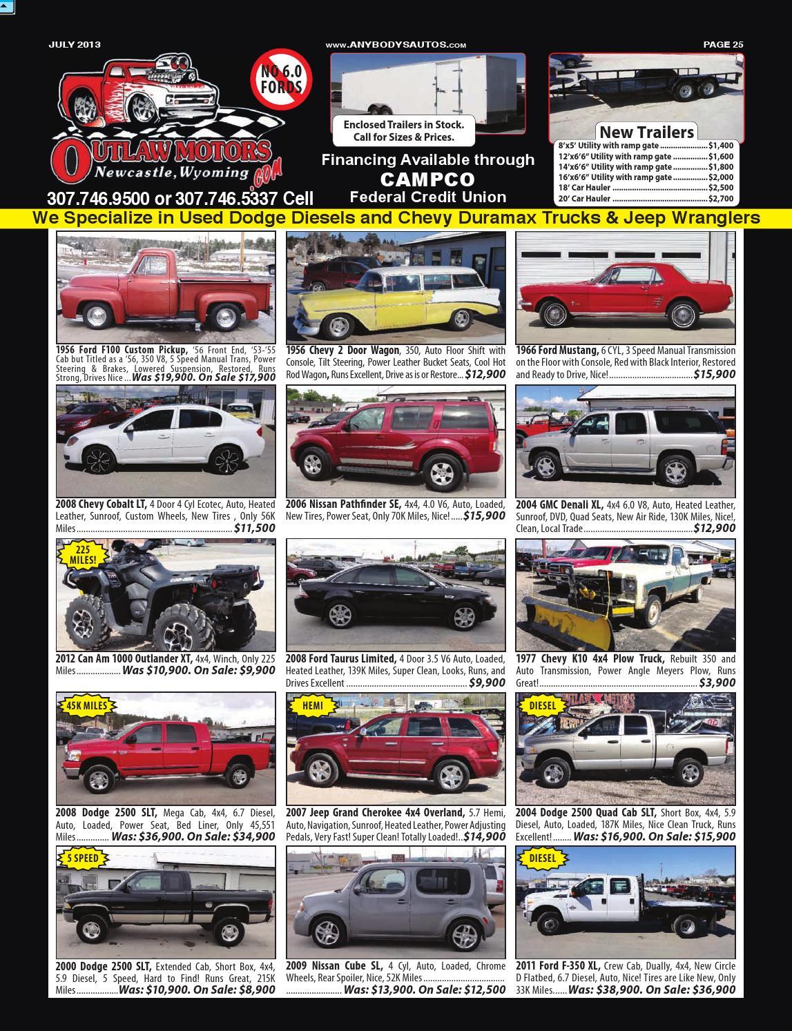 JULY 2013 Anybodys Autos News Magazine by Anybodys Autos - issuu