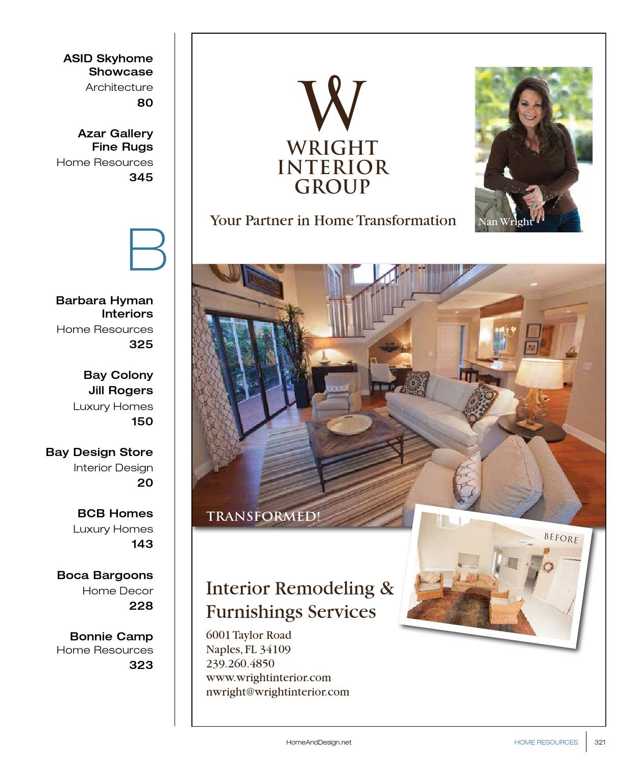Home Design Magazine Annual Resource Guide 2013 By Anthony Spano
