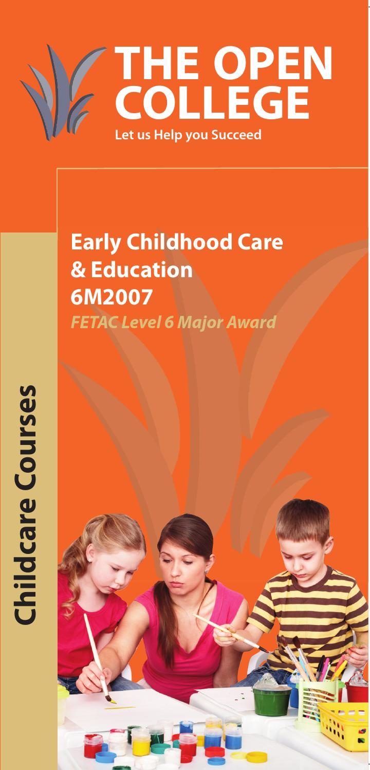 fetac 5 childcare development Child development leading to level 5 qqi child development 5n1764 doc no : 5n1754-01 effective date: 1st september 2017 page 1 of 16 laois and offaly.