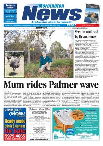 2nd July 2013 By Mornington Peninsula News Group Issuu