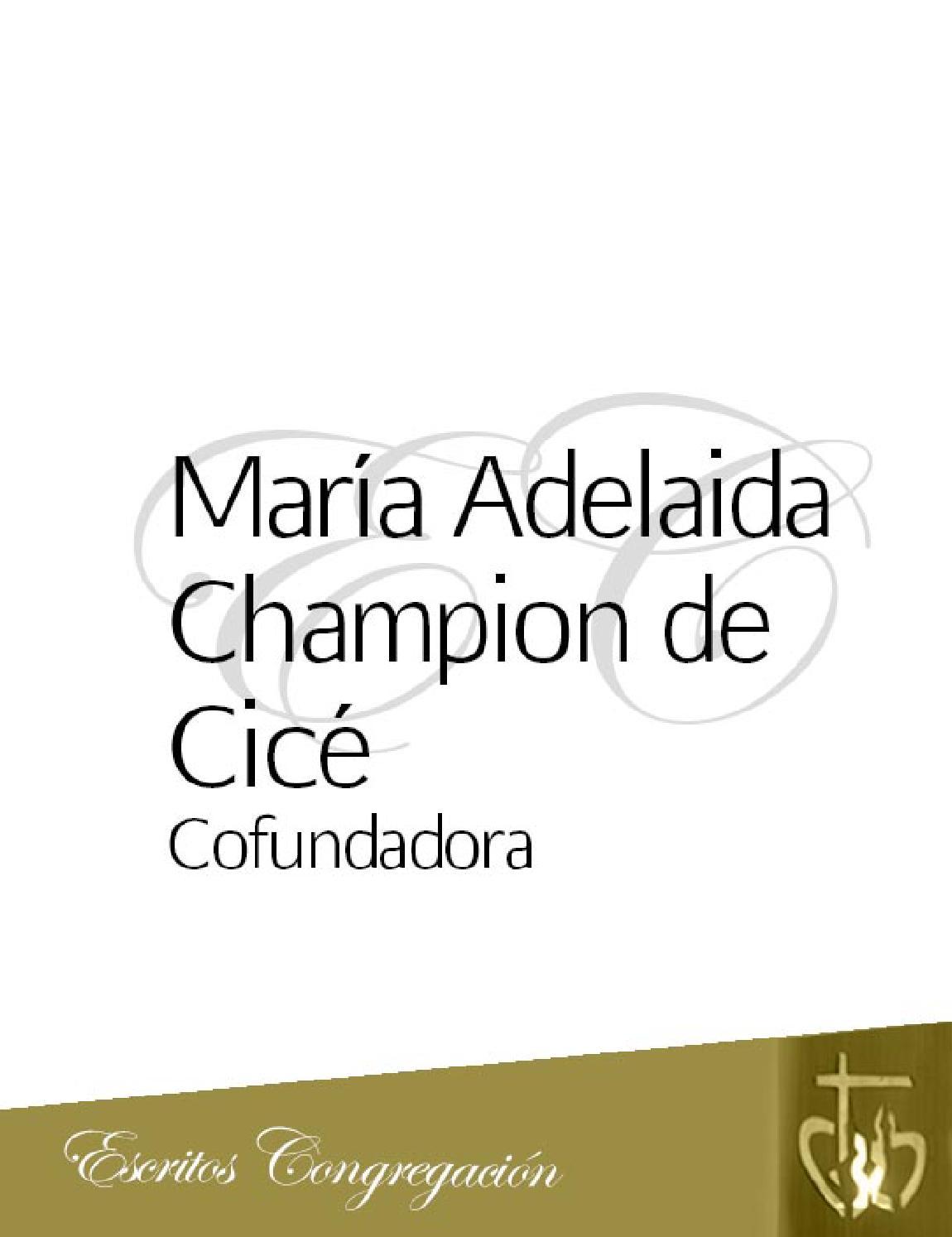 3 adelaida cofundadora by Sociedad Hijas del Corazón de María - issuu