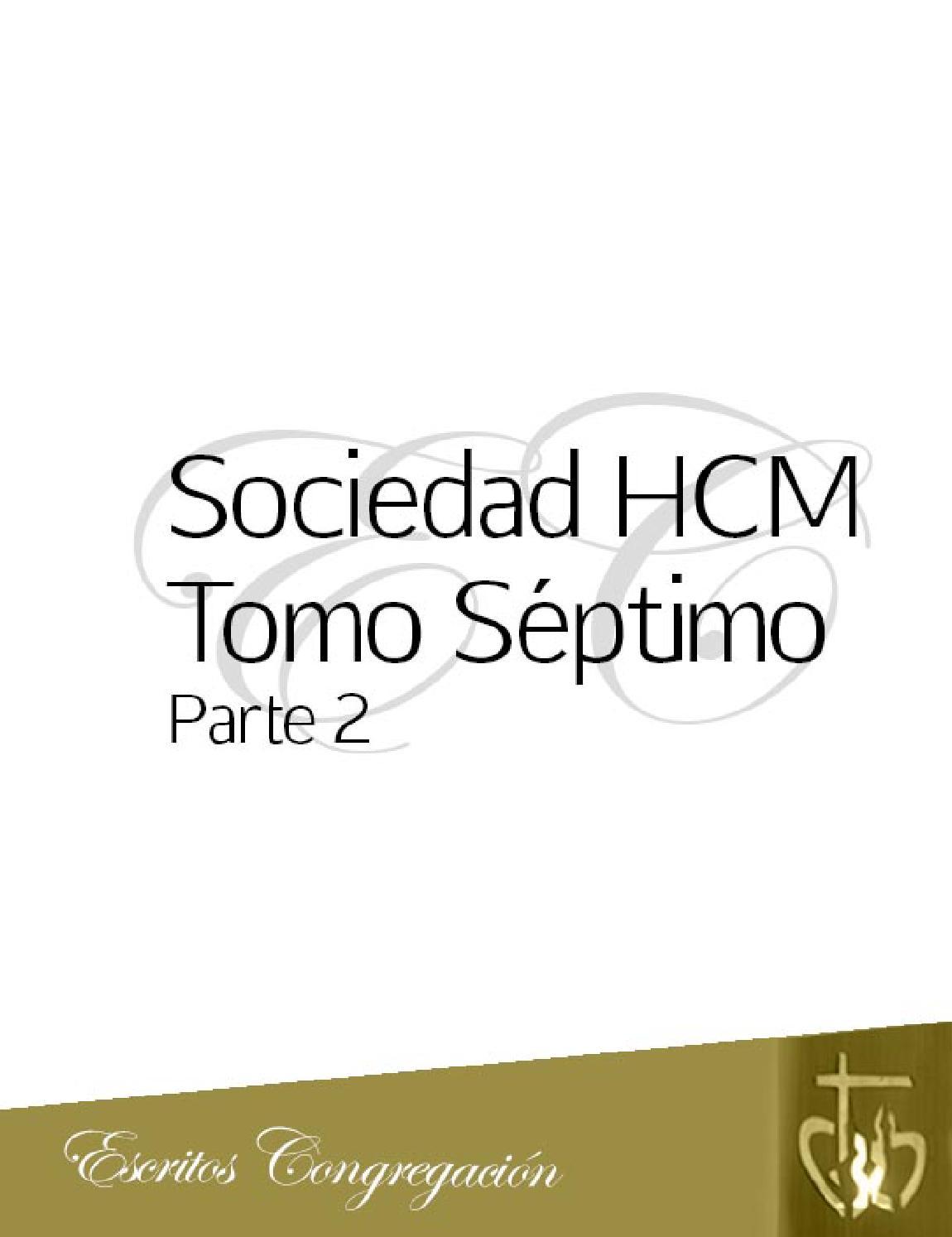 3 anales sociedad hcm tomo septimo parte 2 by Sociedad Hijas del ...