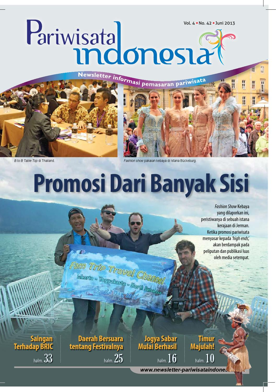 Newsletter Pariwisata Indonesia Juni 9 by Muhammad Muslih - issuu