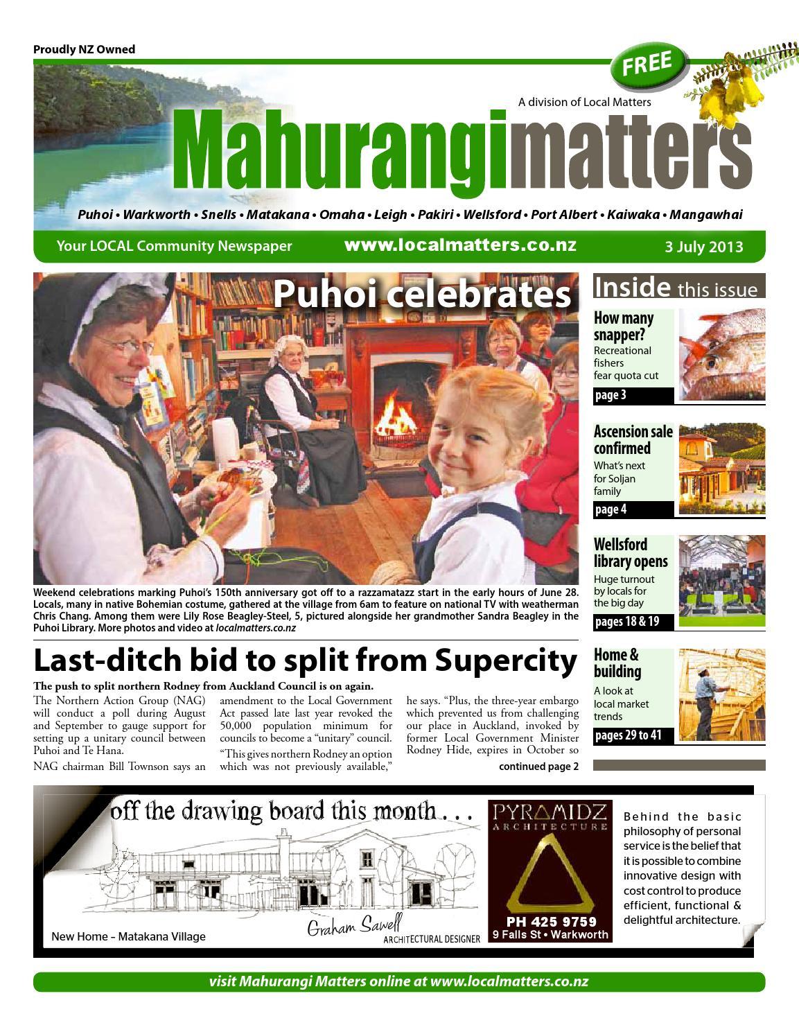 Mahurangi Matters July 3 By Localmatters Issuu Mercedes Benz Semi Davco Fuel Filter