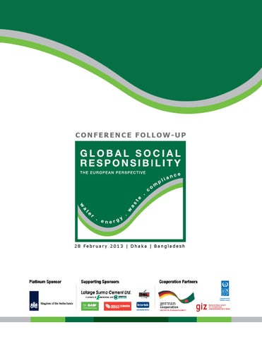 Gsr conference report by BGCCI Bangladesh German Chamber of Commerce
