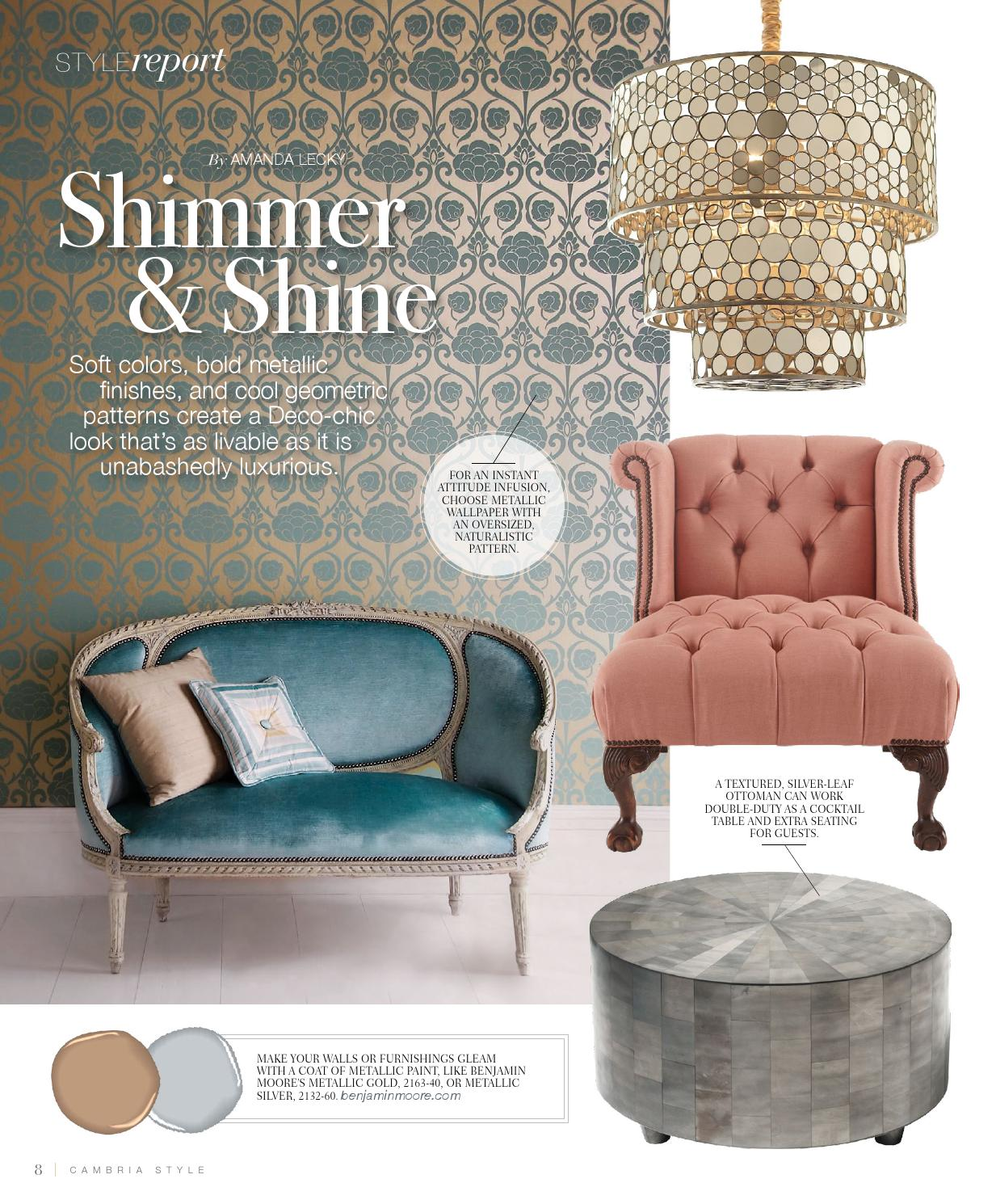 Cambria Style Summer 2013 By Cambria Style Issuu