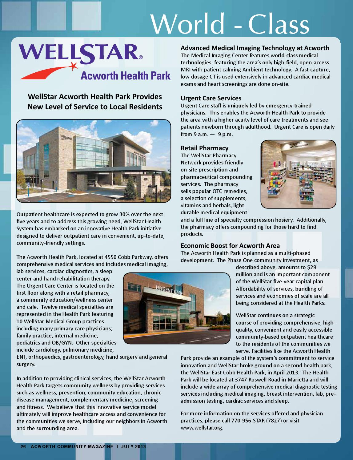 Caring About Our Neighbors As Expected >> July 2013 Issue By Acworth Community Magazine Issuu